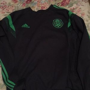 A Mexico National soccer team warm up sweater